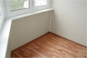 "ламинат ""под паркет"" на балкон"