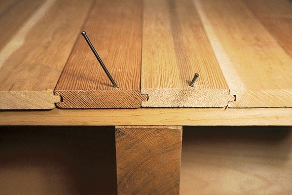 деревянный пол на лагах
