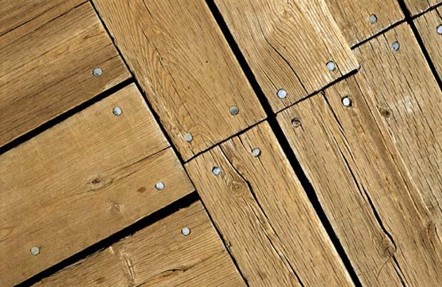 крепление деревянных досок