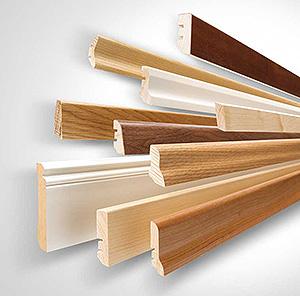 плинтуса напольные деревянные