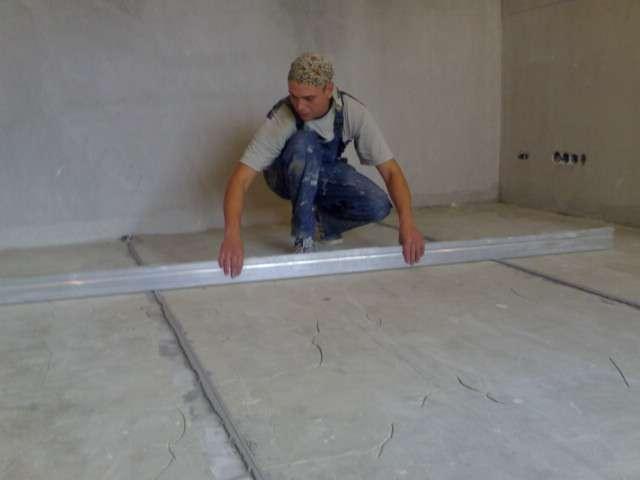 Podgotovka betonnogo osnovanija