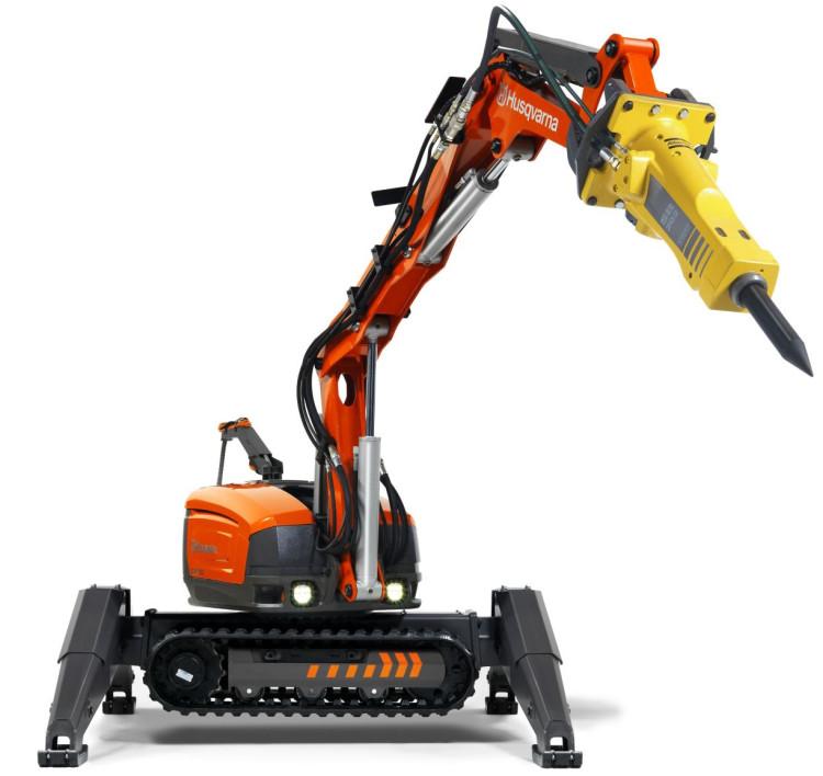 Robot dlja demontazhnyh rabot