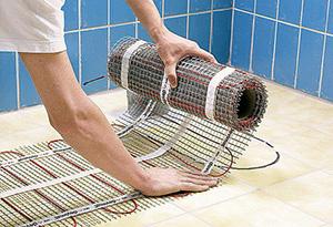 тёплый пол под плитку какой лучше водяной или электрический